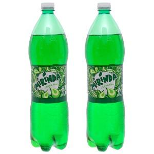 Combo 2 chai nước ngọt Mirinda vị soda kem 1.5 lít