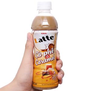 Thức uống thiên nhiên pha sữa Kirin Latte cà phê & caramel 345ml