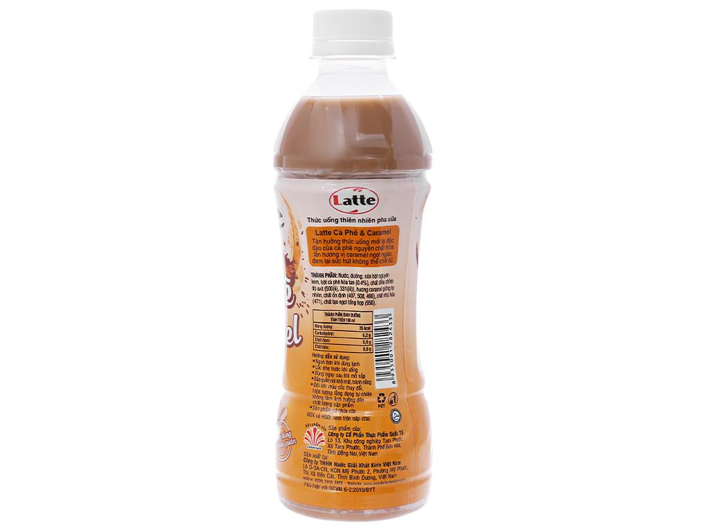 6 chai thức uống thiên nhiên pha sữa Kirin Latte cà phê & caramel 345ml 3