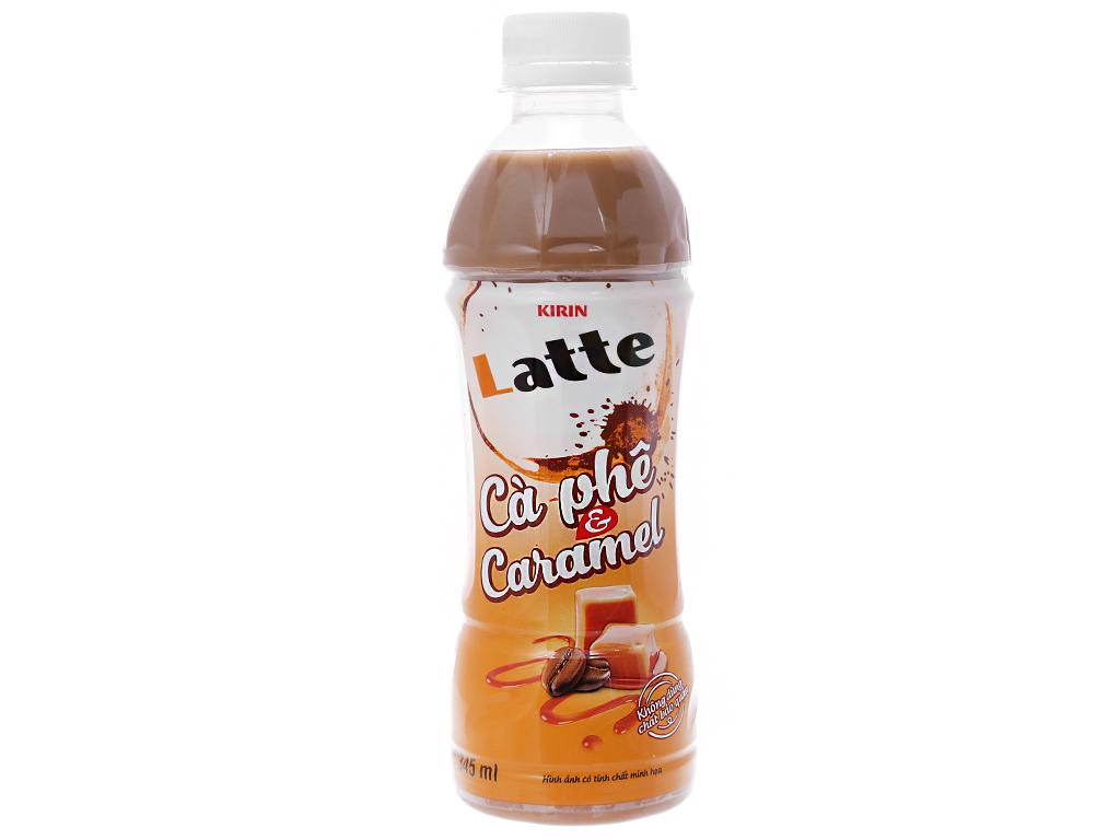 6 chai thức uống thiên nhiên pha sữa Kirin Latte cà phê & caramel 345ml 4