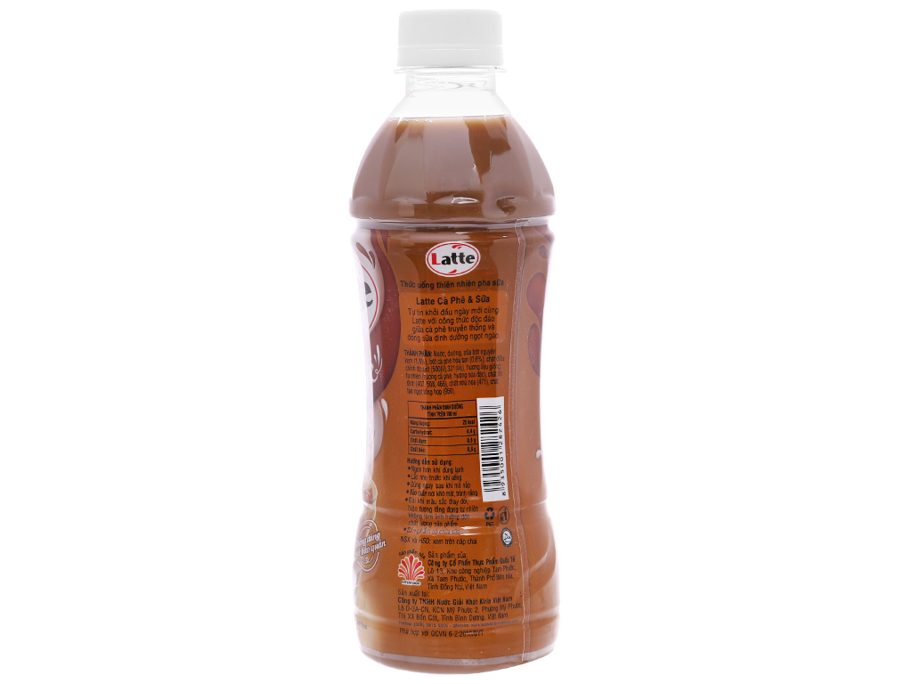 Thùng 24 chai thức uống thiên nhiên pha sữa Kirin Latte cà phê & sữa 345ml 3