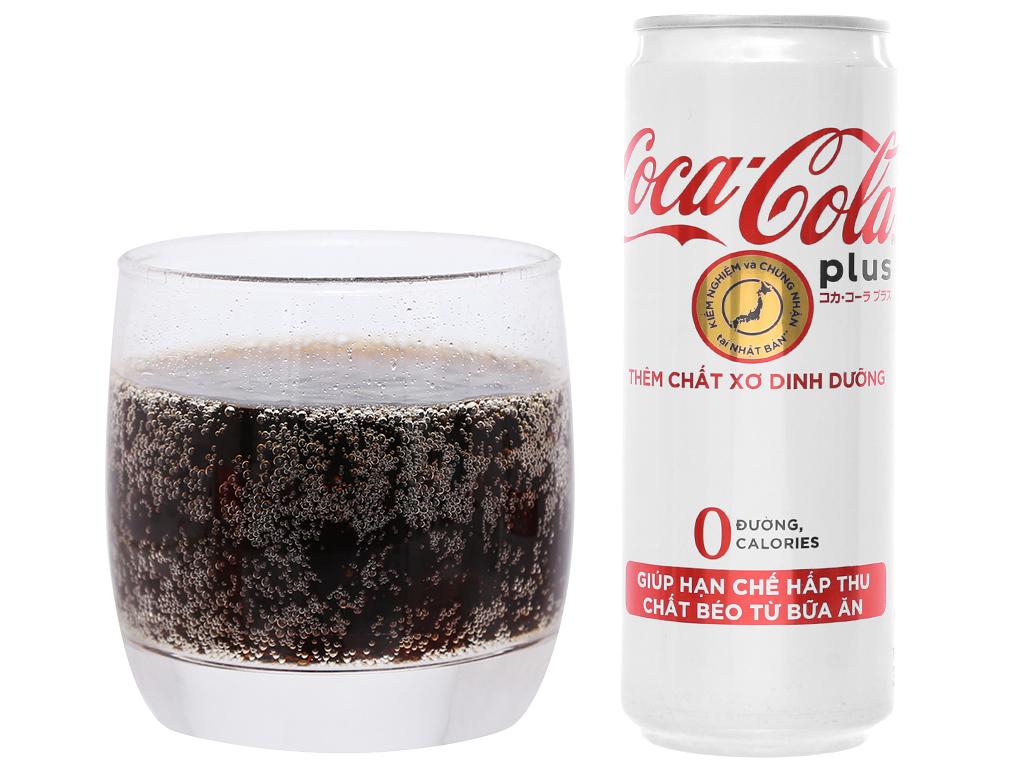 Nước ngọt Coca Cola Plus 330ml 4
