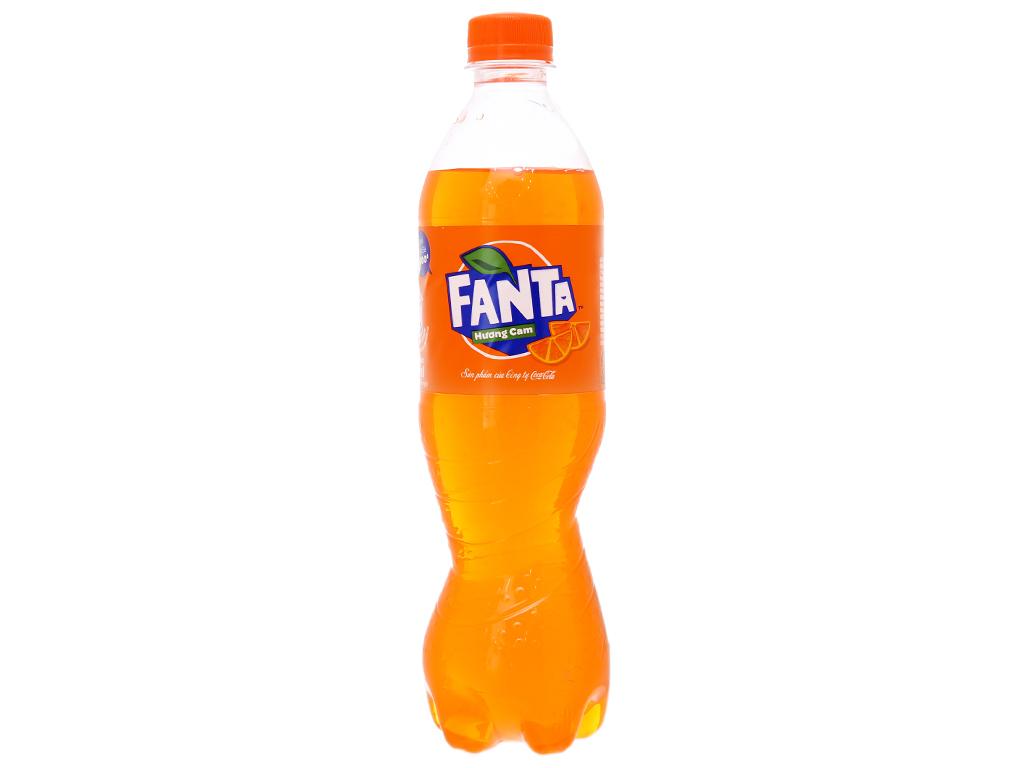 6 chai nước ngọt Fanta vị cam 600ml 2