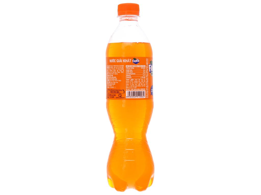 6 chai nước ngọt Fanta vị cam 600ml 3