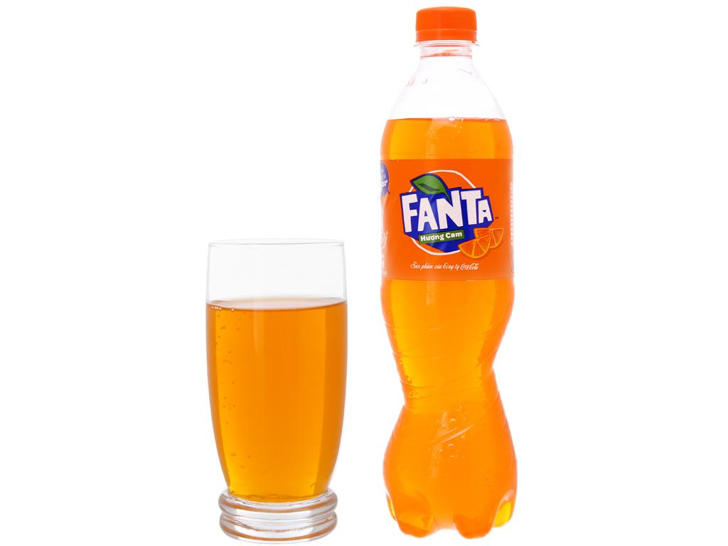 6 chai nước ngọt Fanta vị cam 600ml 4