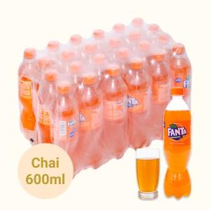 24 chai nước ngọt Fanta hương cam 600ml
