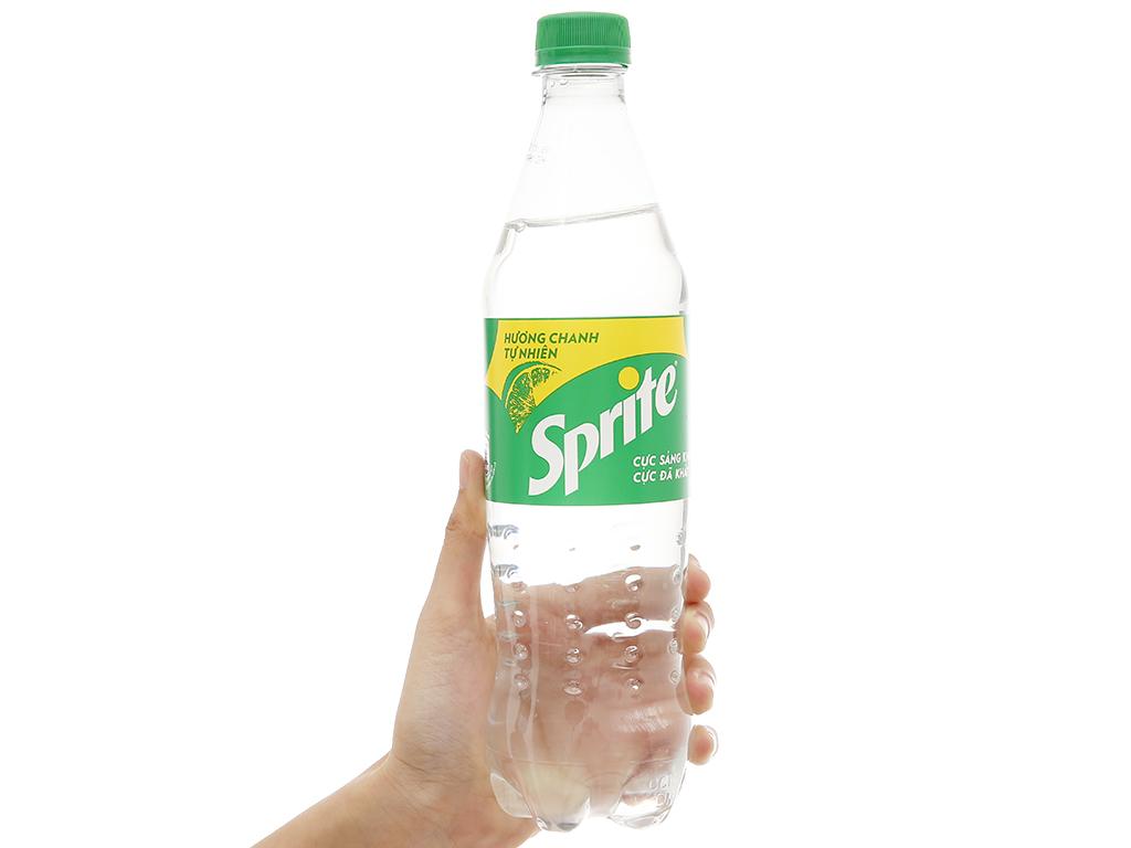 6 chai nước ngọt Sprite hương chanh 600ml 4