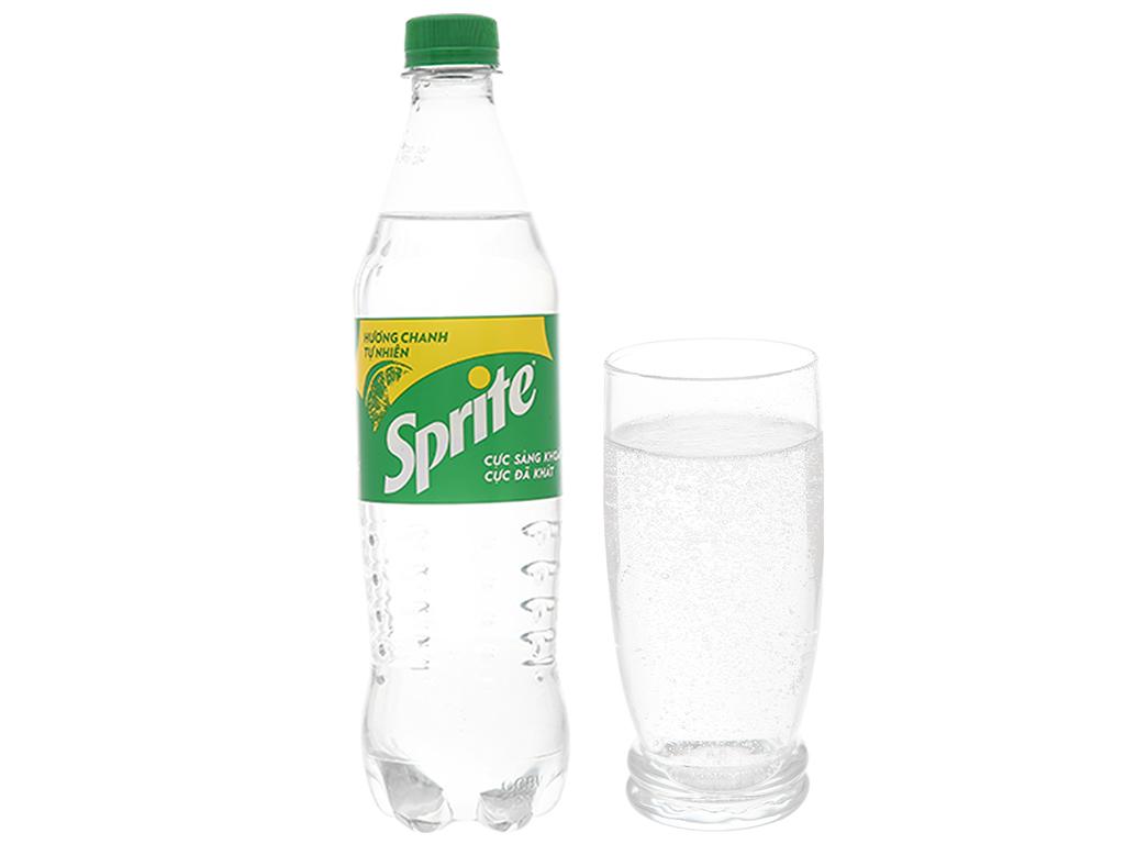 6 chai nước ngọt Sprite hương chanh 600ml 5