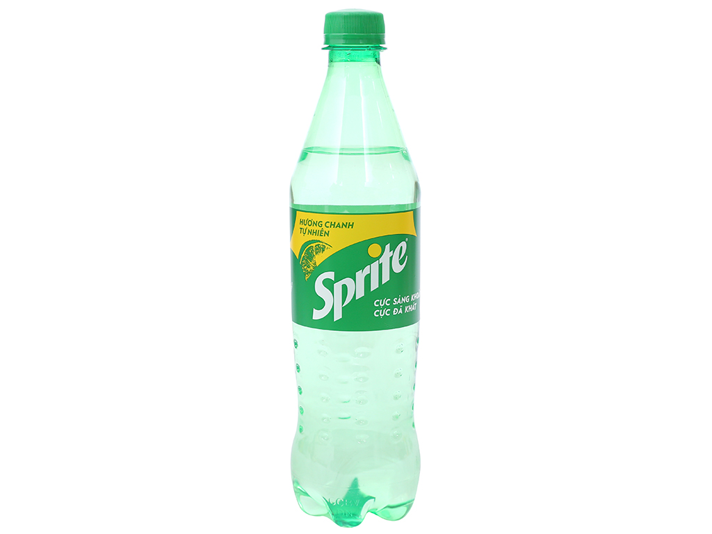 6 chai nước ngọt Sprite hương chanh 600ml 2