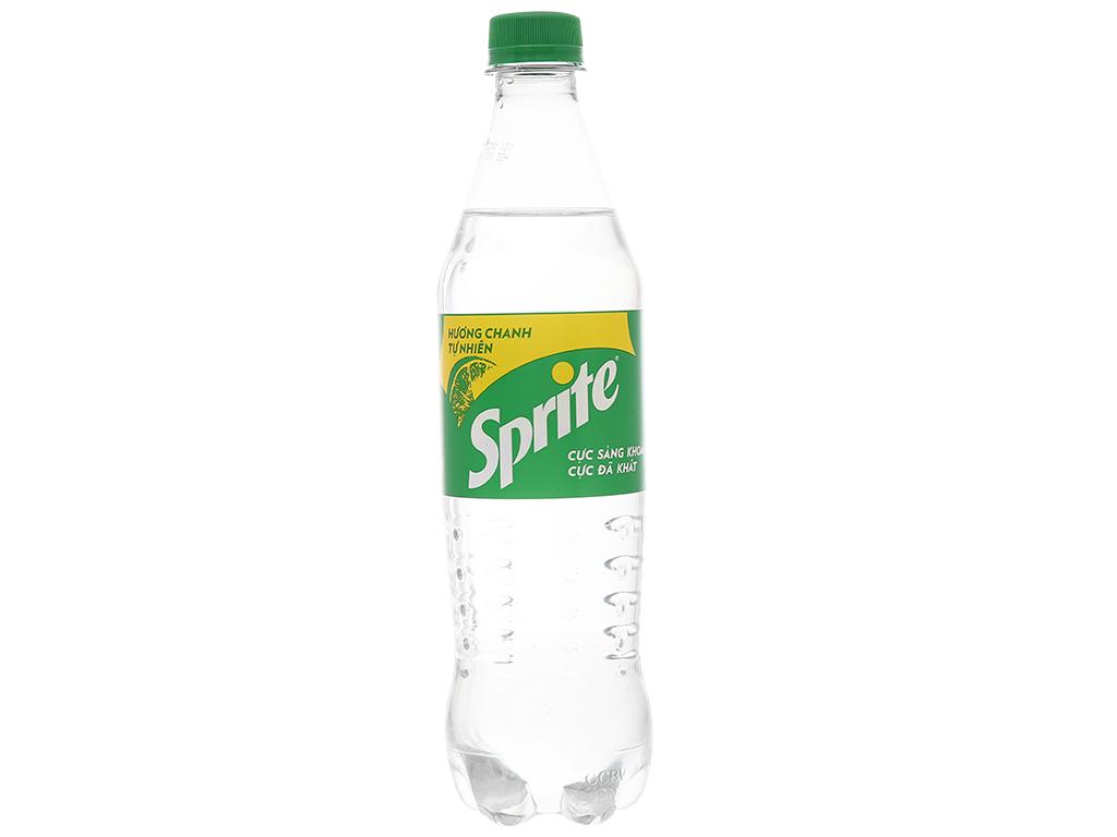 24 chai nước ngọt Sprite hương chanh 600ml 2