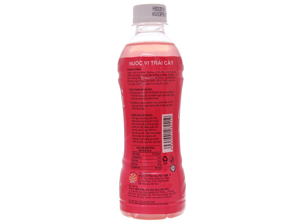 6 chai nước trái cây Ice+ vị sơ ri 345ml 3