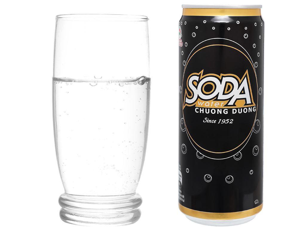 Soda Chương Dương lon 330ml 10