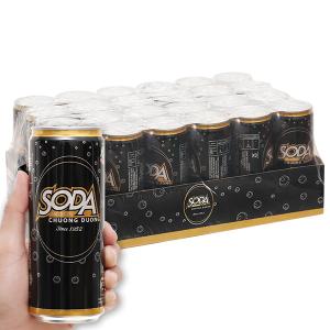 24 lon soda Chương Dương 330ml