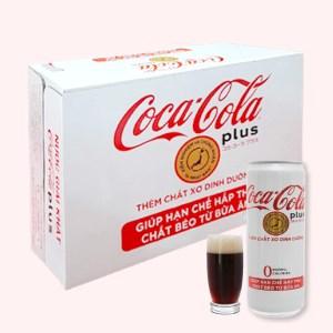 Thùng 24 lon nước ngọt Coca Cola Plus 320ml
