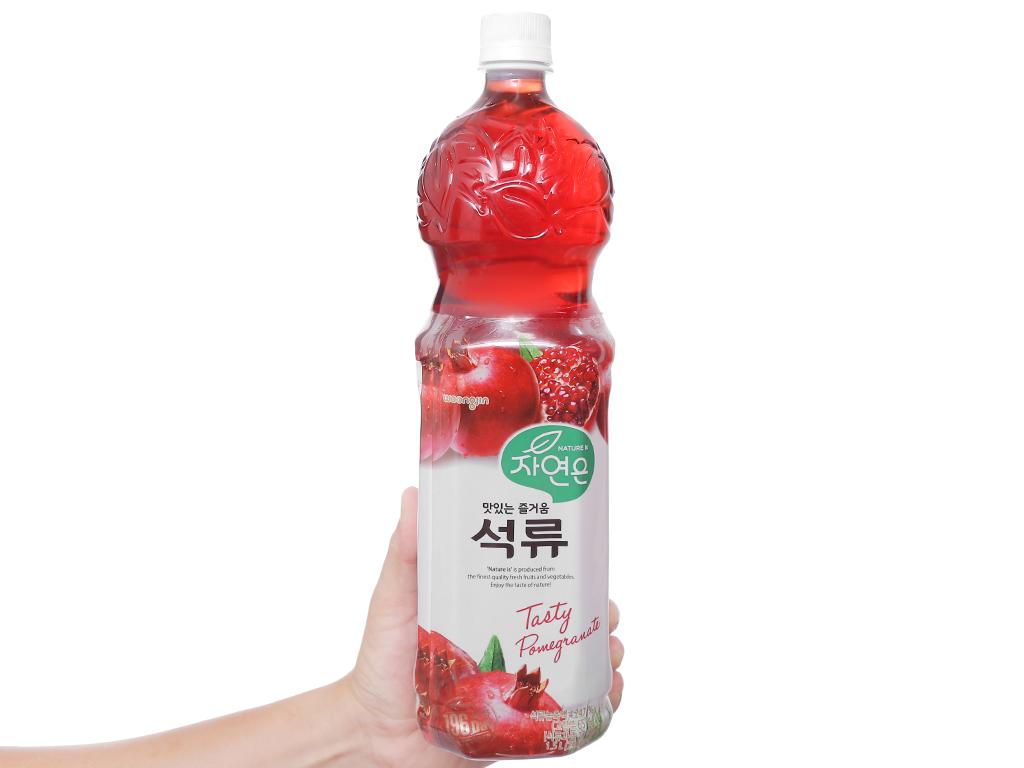 6 chai nước ép Woongjin lựu 1.5 lít 4