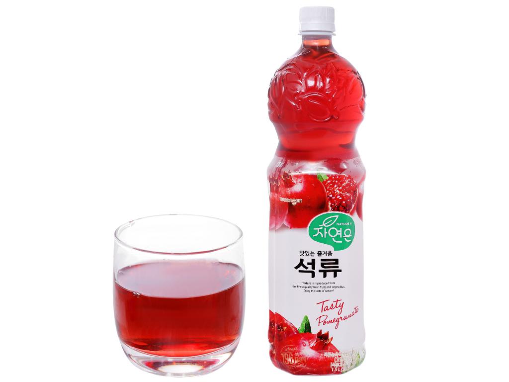 6 chai nước ép Woongjin lựu 1.5 lít 5