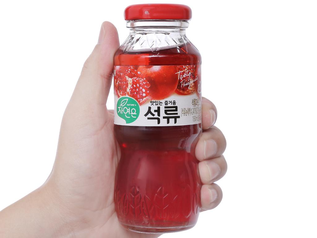 6 chai nước ép Woongjin lựu 180ml 4