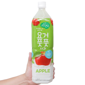 Nước ép lợi khuẩn Woongjin vị táo 1.5 lít