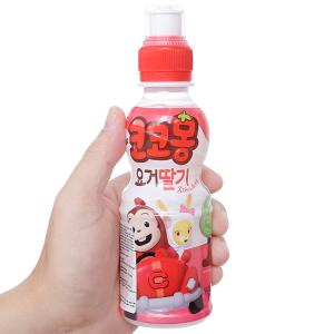 Nước uống tổng hợp Kokomong vị dâu tây 200ml