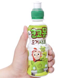 Nước uống tổng hợp Kokomong vị táo 200ml