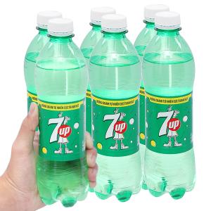 6 chai nước ngọt 7 Up vị chanh 500ml