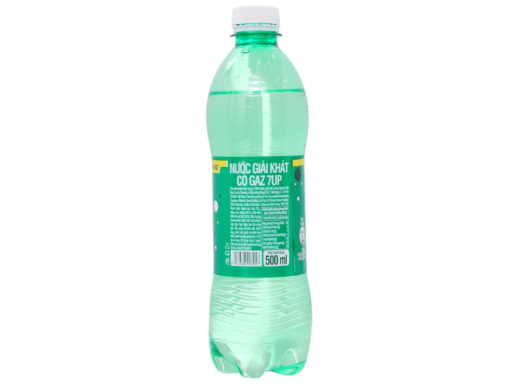 6 chai nước ngọt 7 Up vị chanh 500ml 2