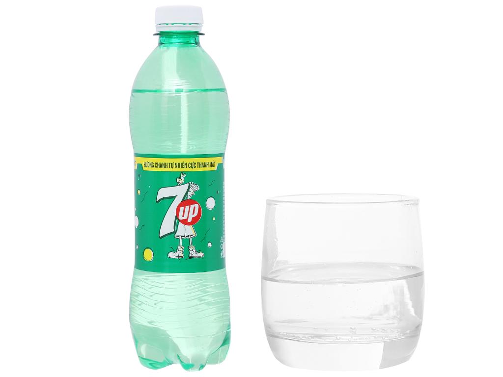 6 chai nước ngọt 7 Up vị chanh 500ml 4