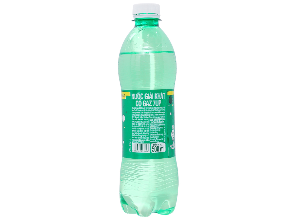 Thùng 24 chai nước ngọt 7 Up vị chanh 500ml 2