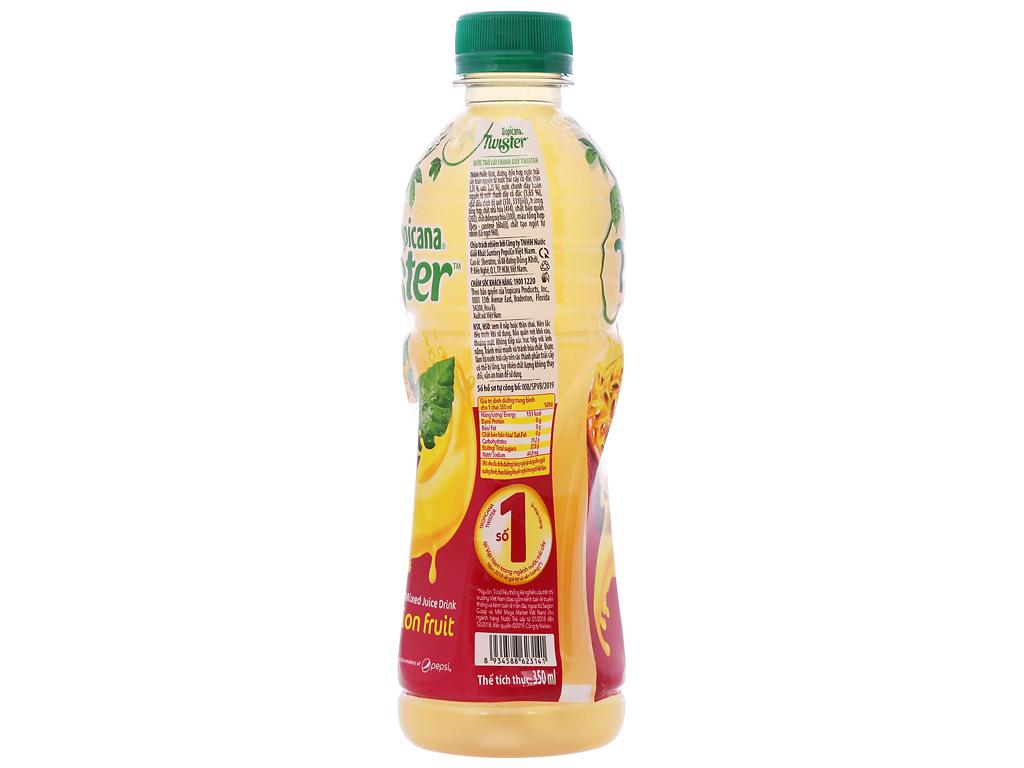 Thùng 24 chai nước trái cây Twister chanh dây 350ml 2