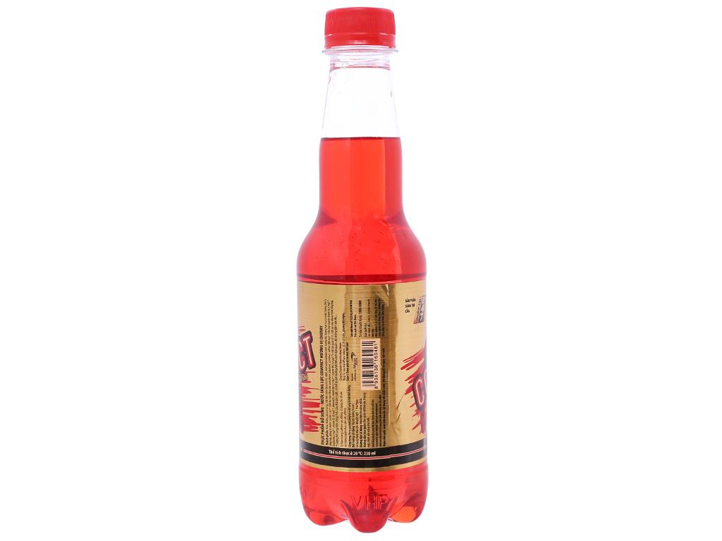 Thùng 24 chai nước tăng lực Compact vị cherry 330ml 2
