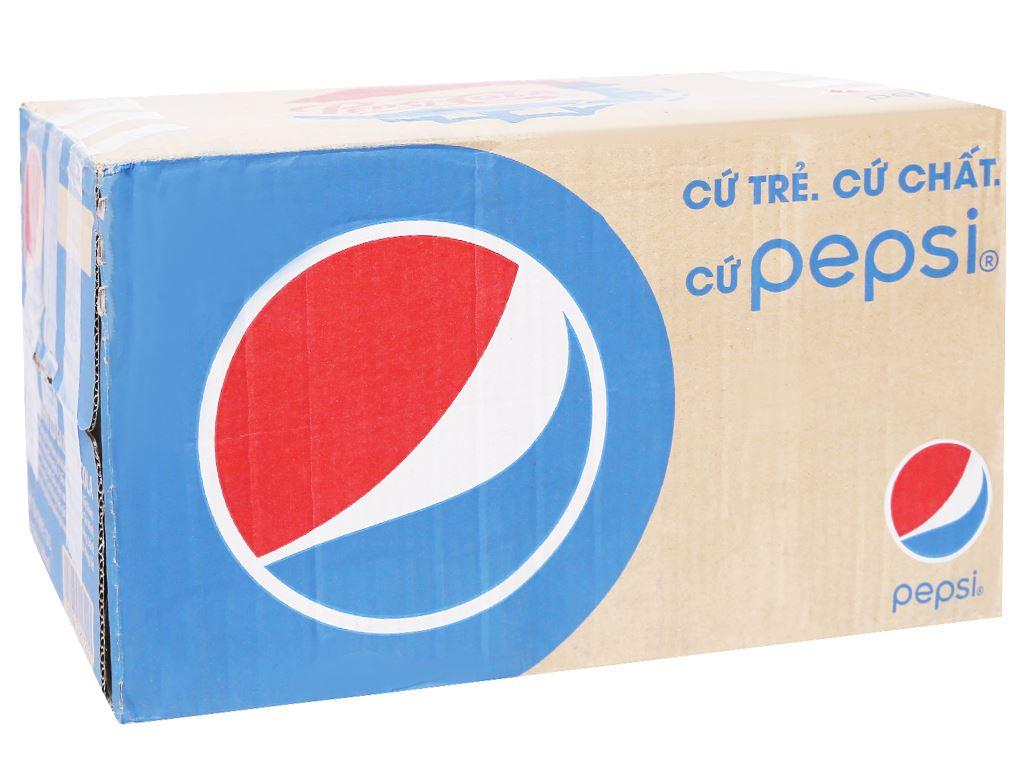 Thùng 24 chai nước ngọt Pepsi Cola 500ml 1