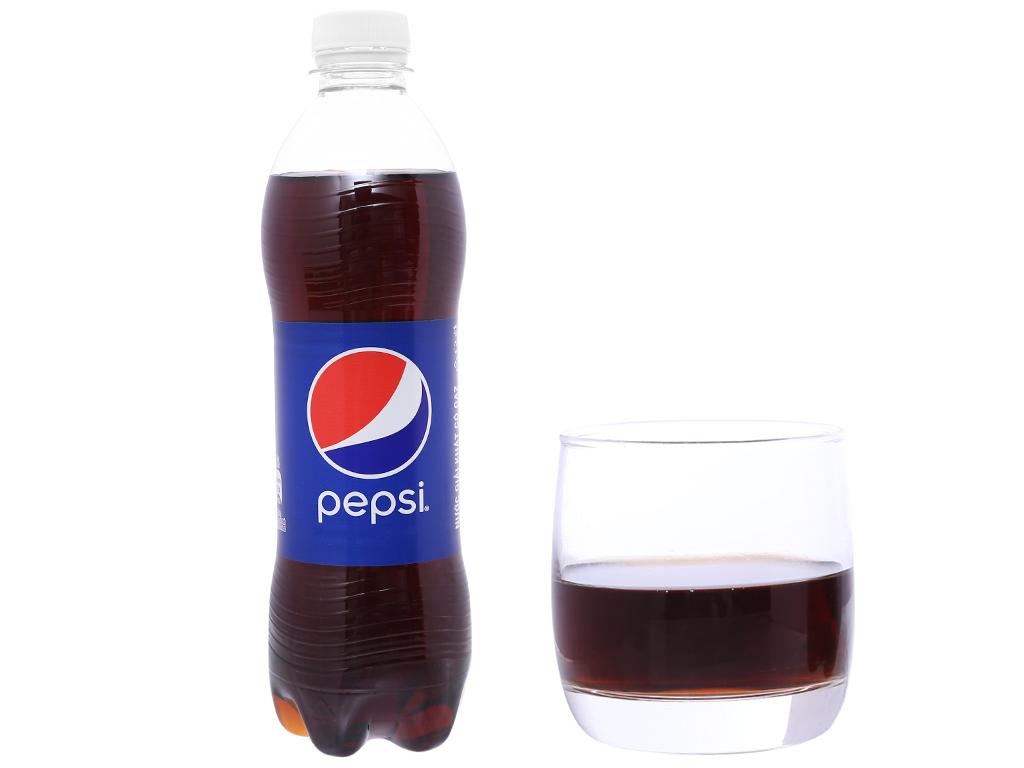 Thùng 24 chai nước ngọt Pepsi Cola 500ml 6
