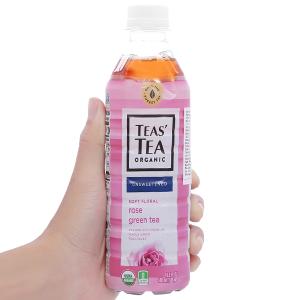 Trà xanh Teas' Tea Organic hoa hồng 500ml