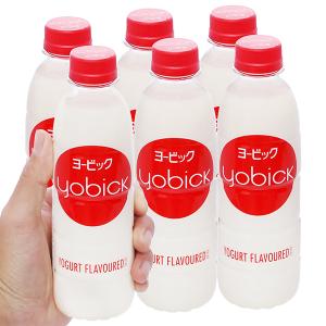 6 chai nước uống sữa chua Yobick 310ml