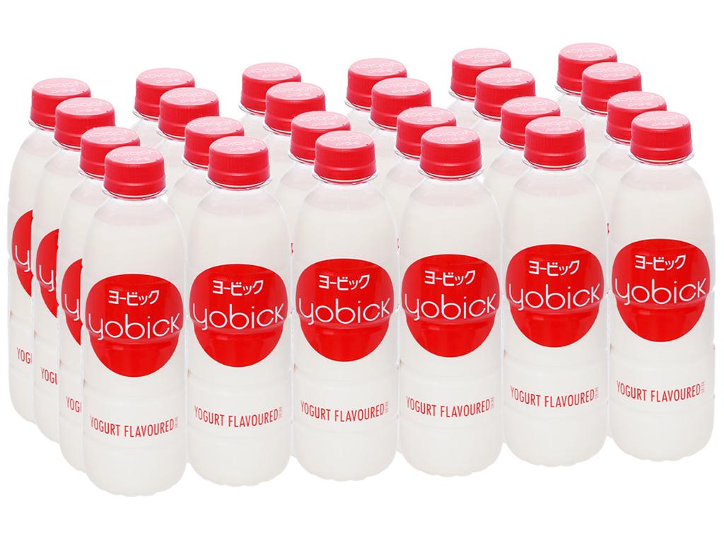 24 chai nước uống sữa chua Yobick 310ml 1