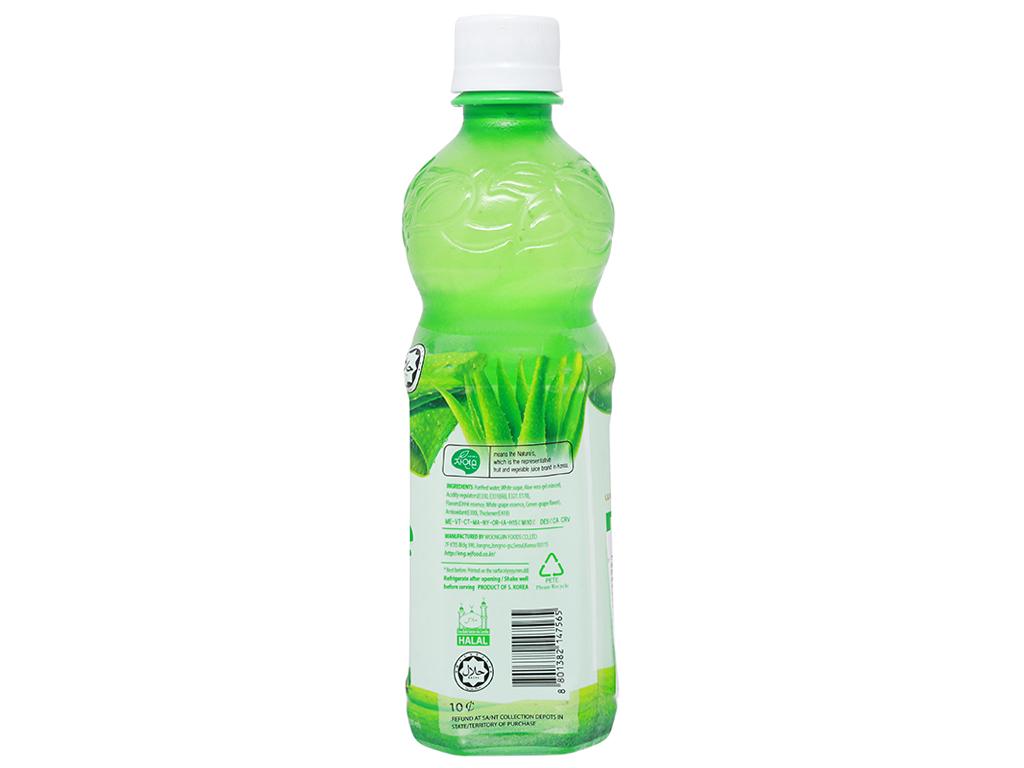Nước nha đam Woongjin Zaiyeonun Aloe 8% 500ml 2