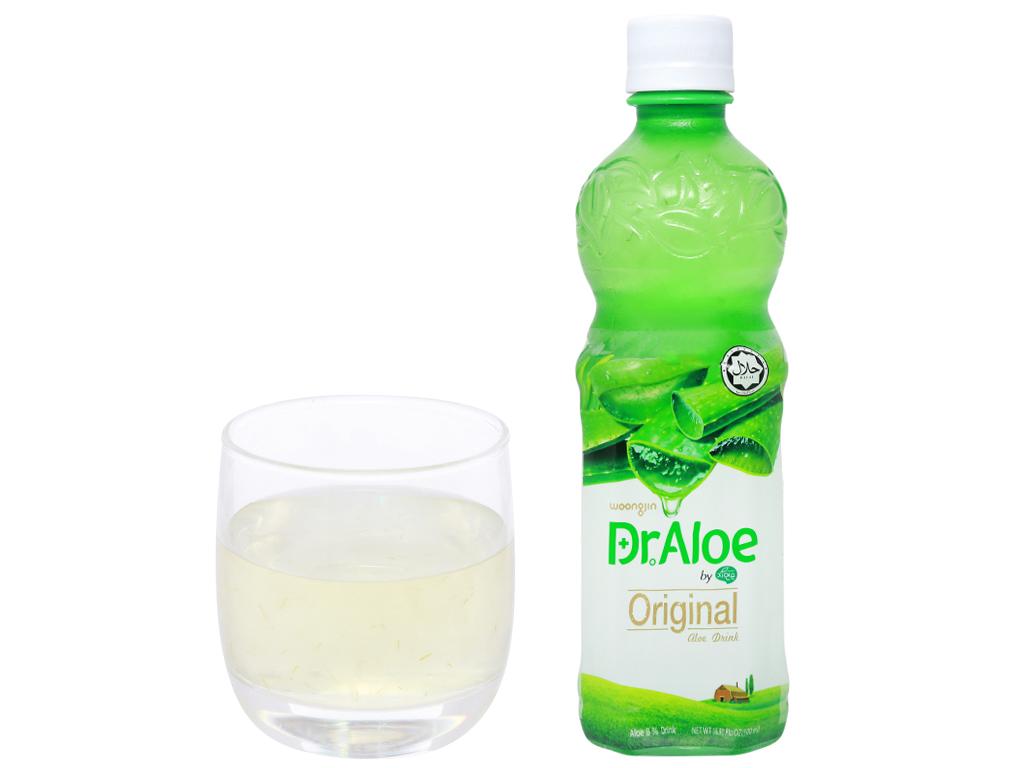 Nước nha đam Woongjin Zaiyeonun Aloe 8% 500ml 7