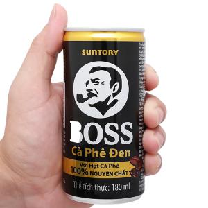 Cà phê đen Boss 180ml