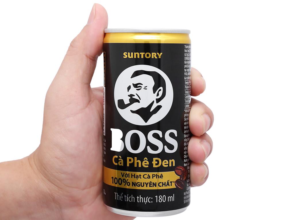 Cà phê đen Boss 180ml 9