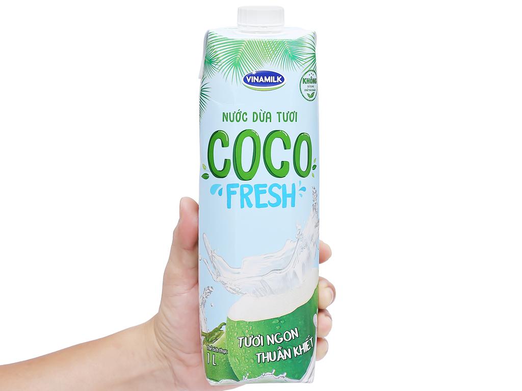 6 hộp nước dừa tươi Vinamilk Coco Fresh 1 lít 6