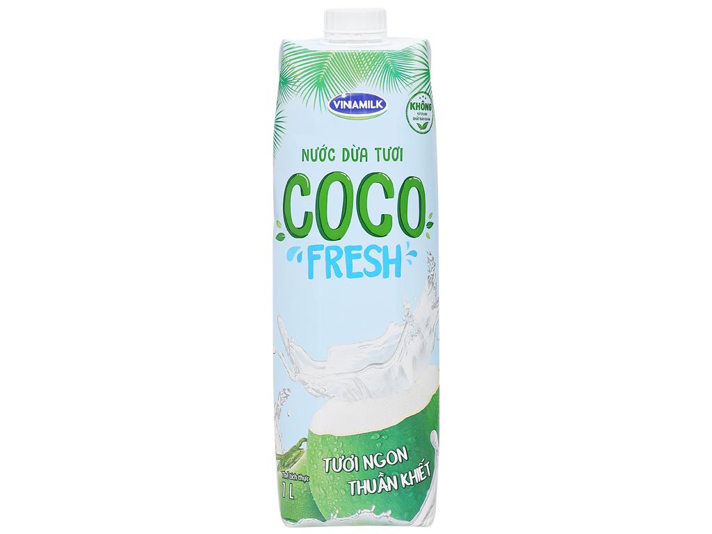 Thùng 12 hộp nước dừa tươi Vinamilk Coco Fresh 1 lít 3