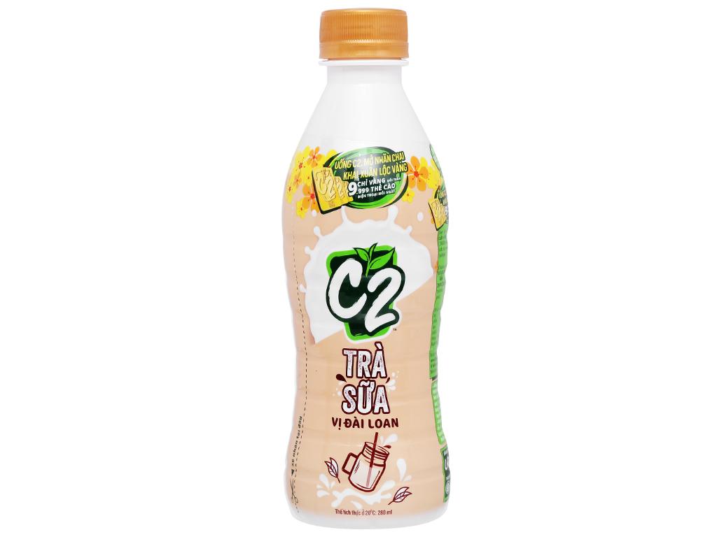 6 chai trà sữa C2 vị Đài Loan 280ml 2