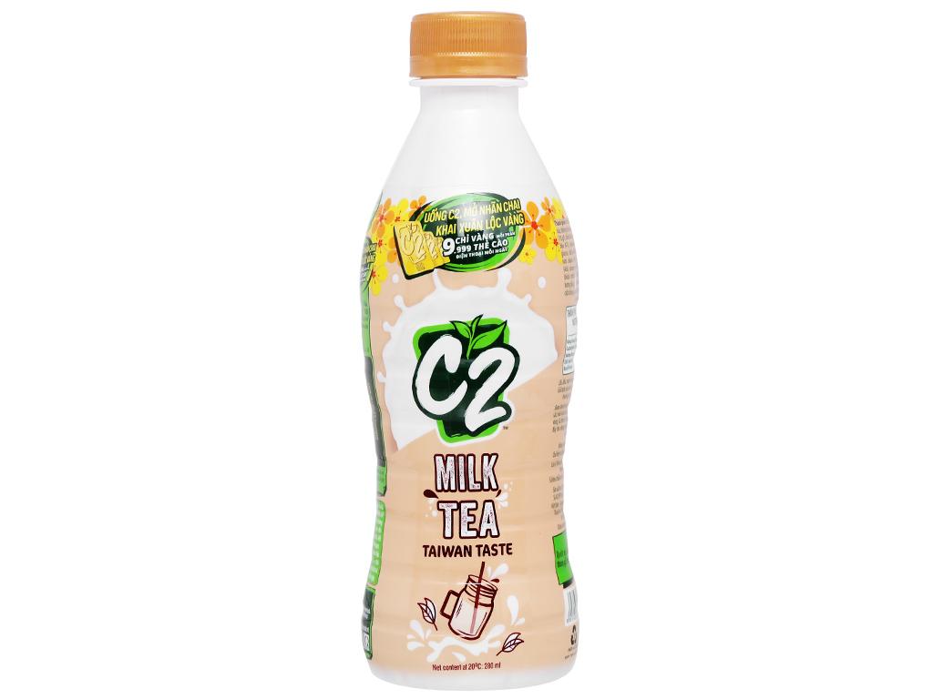 6 chai trà sữa C2 vị Đài Loan 280ml 3