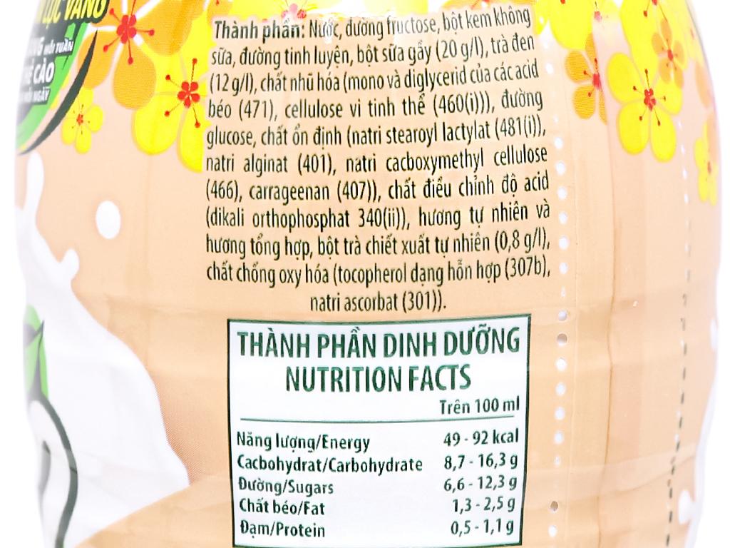 6 chai trà sữa C2 vị Đài Loan 280ml 6