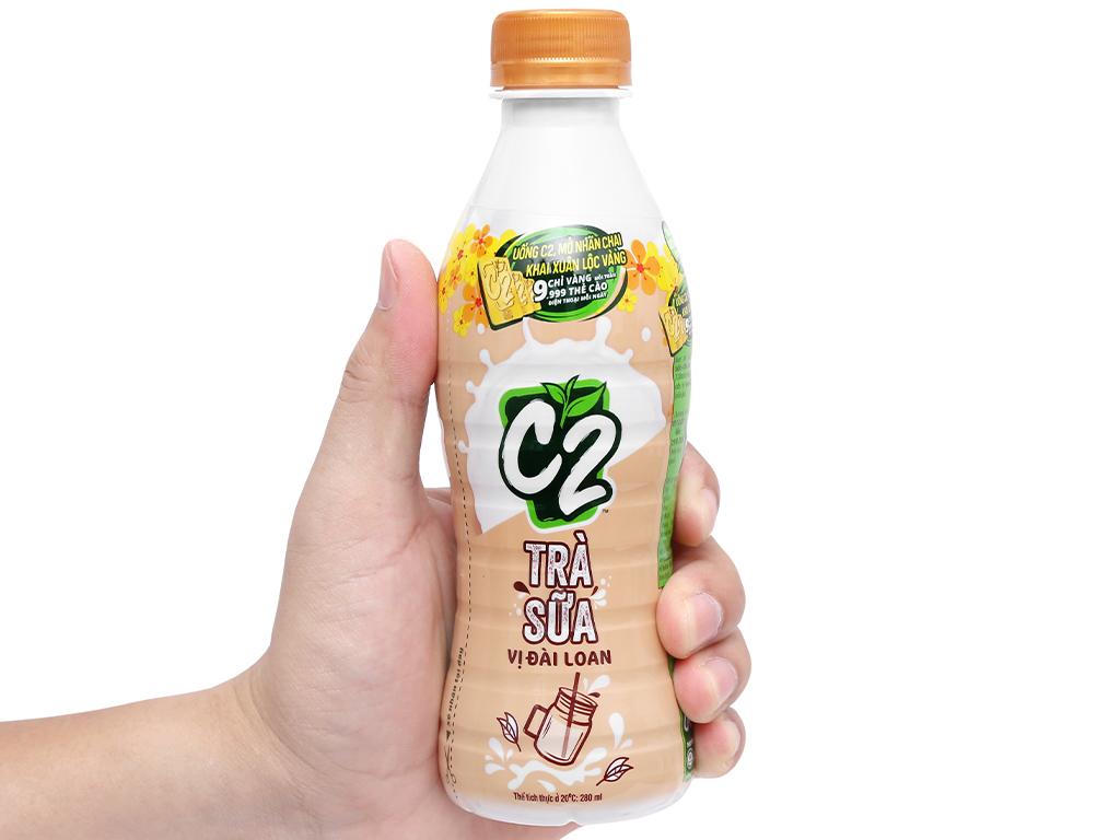 6 chai trà sữa C2 vị Đài Loan 280ml 7