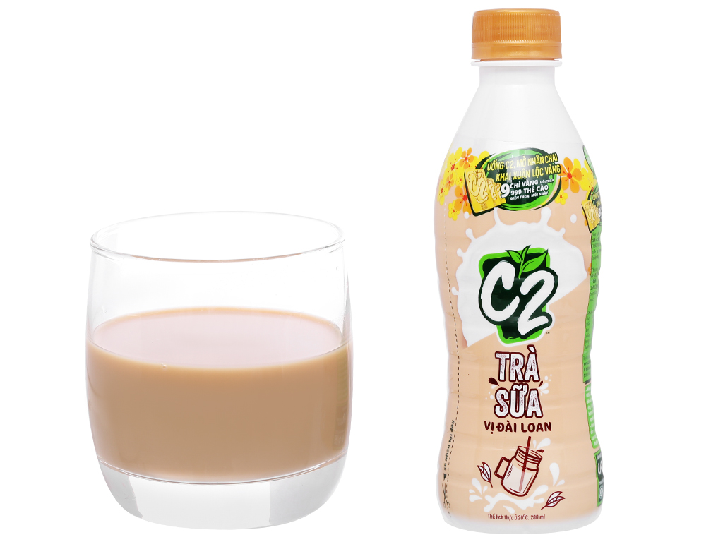 6 chai trà sữa C2 vị Đài Loan 280ml 8