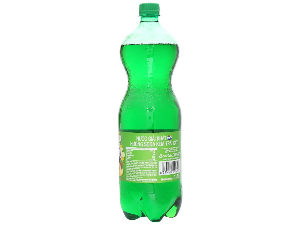 6 chai nước ngọt Fanta hương soda kem trái cây 1.5 lít 4