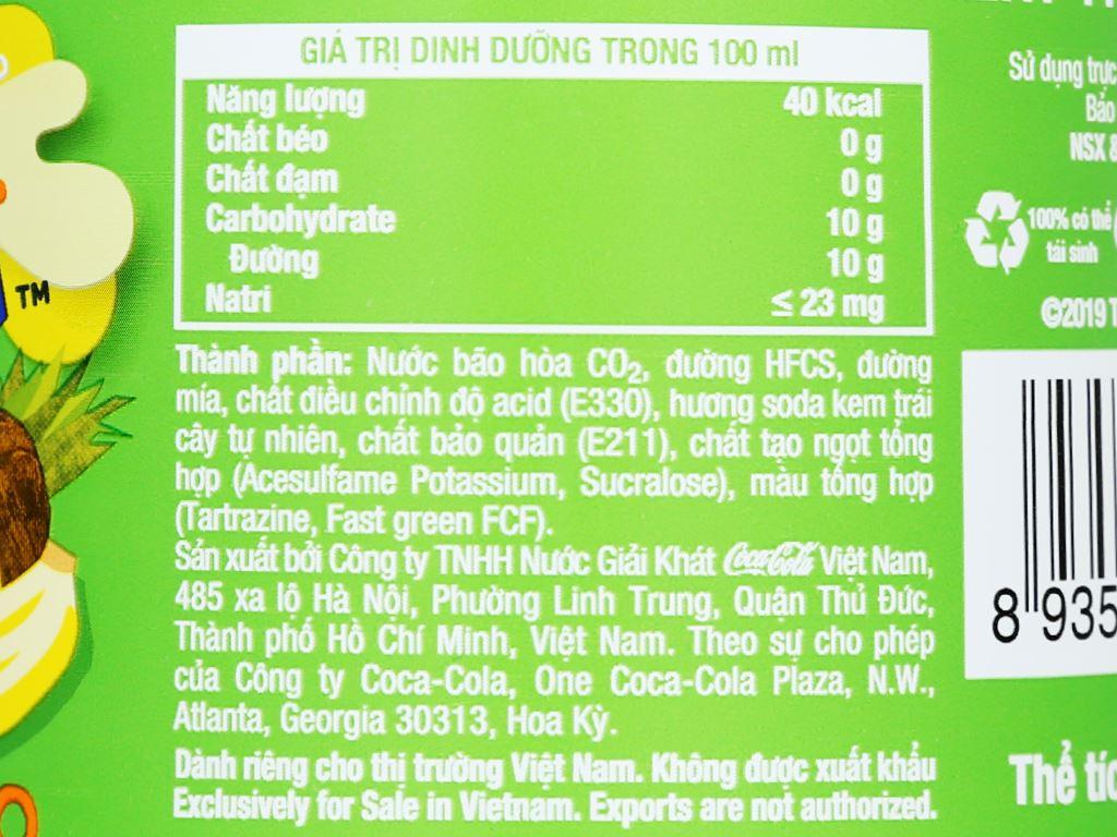 6 chai nước ngọt Fanta hương soda kem trái cây 1.5 lít 5