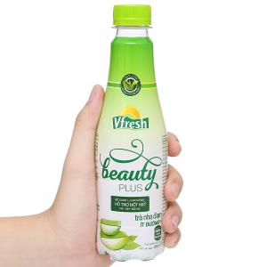 Trà nha đam ít đường Vfresh Beauty Plus 350ml