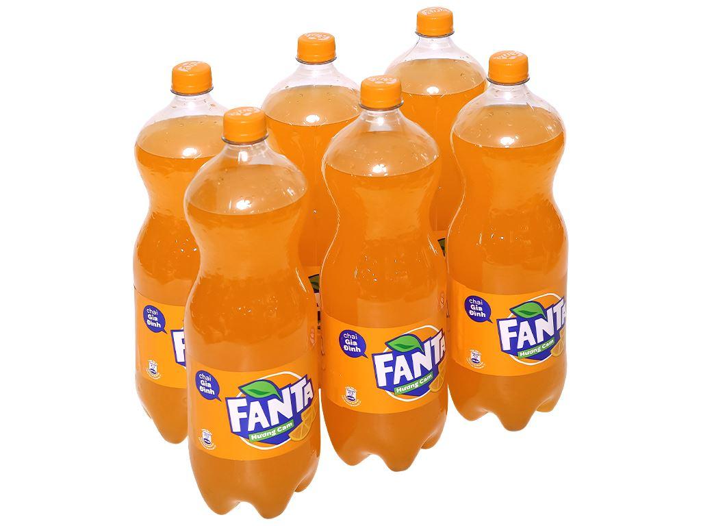 6 chai nước ngọt Fanta hương cam 1.5 lít 1
